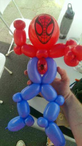 balloon animal spider man