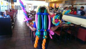 balloon twisting jetpack