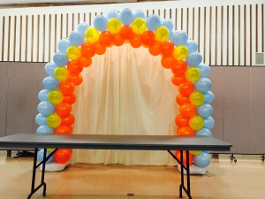 denver balloon arch decor simply smiles