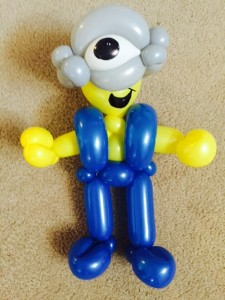 balloon animal minion