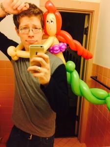 it's a balloon twister mermaid