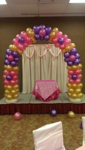denver balloon arch decor stapleton