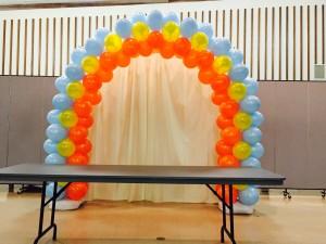denver balloon arch decor simply smiles