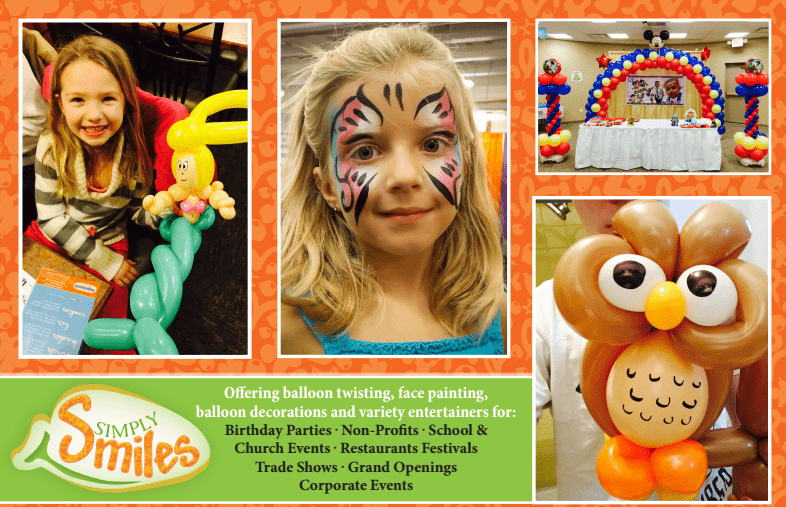 Balloon Artists, Face Painters, and Variety Entertainers That Do Both!