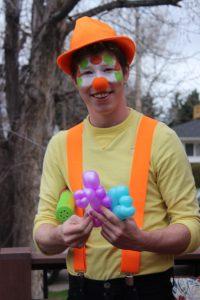 Smiles the clown, Denver's best clown balloon artist